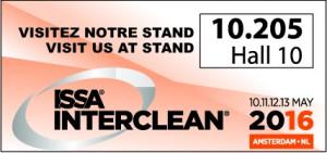 Logo Interclean 2016 signature
