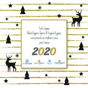 "Meilleurs VÅ""ux 2020 !"